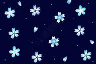 小花背景素材图片