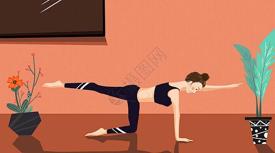 联系瑜伽图片