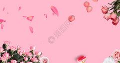 春季鲜花背景图片