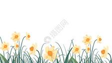 花卉插画背景图片