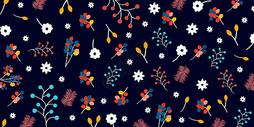 小清新花卉植物背景图片