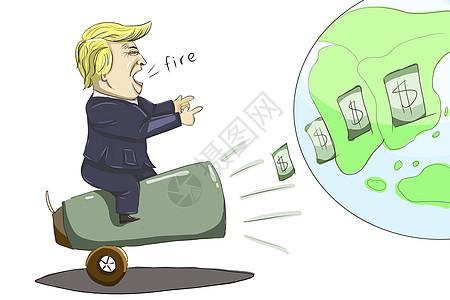 美国开启贸易战争图片