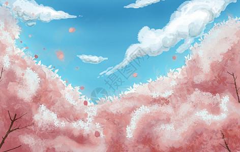 樱花海picture