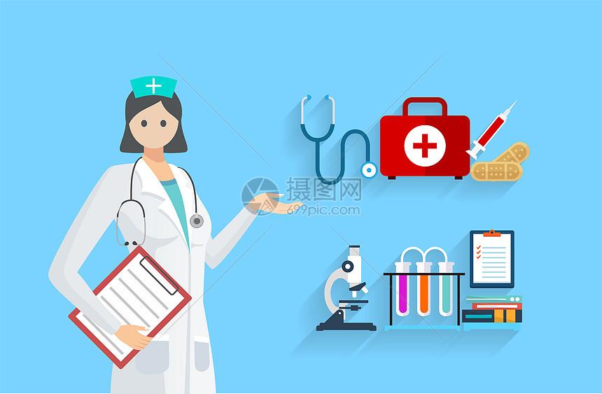 医生医疗图标图片