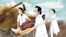 抗震救灾图片