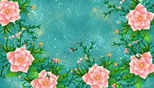 花卉背景400121643图片