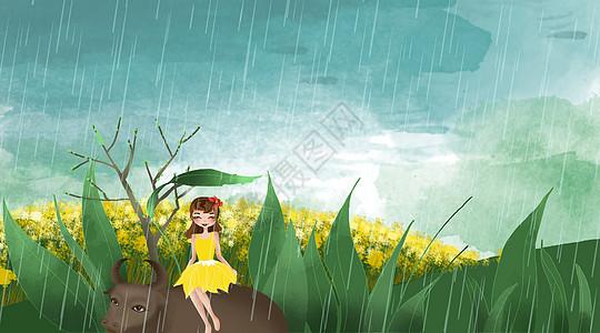 清明雨图片