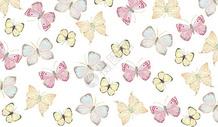 水彩蝴蝶背景图片