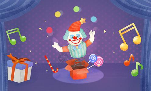 愚人节小丑图片