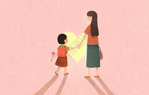 母亲与孩子图片