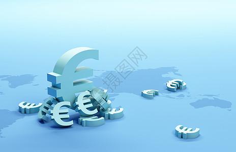 欧元背景图片