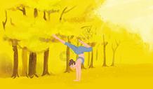 室外瑜伽图片