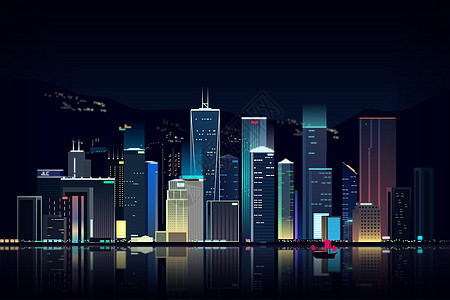 唯美城市建筑图片