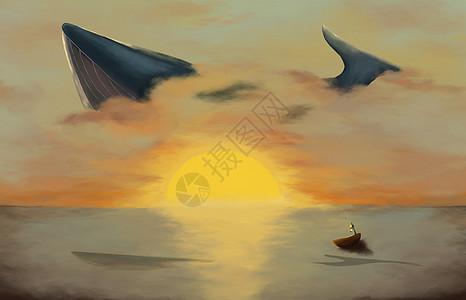 鲸鱼与大海图片