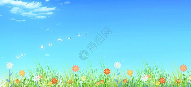 小清新花朵风景高清图片