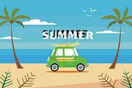 夏天旅游图片