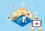 移动设备智能医疗图片