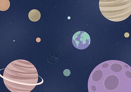 星球星空图片