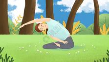 健康瑜伽健身图片