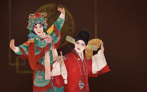 京剧人物图片