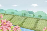 谷雨雨景图片