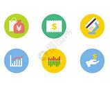 金融元素图标图片