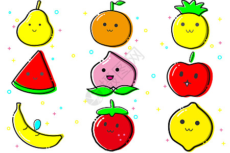 MBE风水果表情图片
