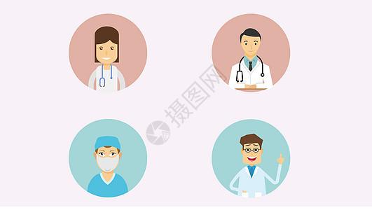 医生相关职业人物形象图片
