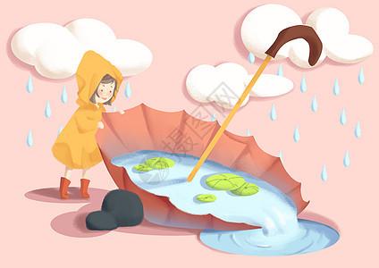 谷雨天气图片