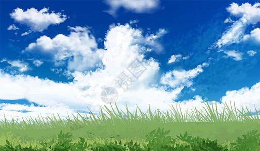 云海下的田野图片