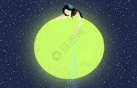 千万个孤独的夜撒下星星与你作陪图片