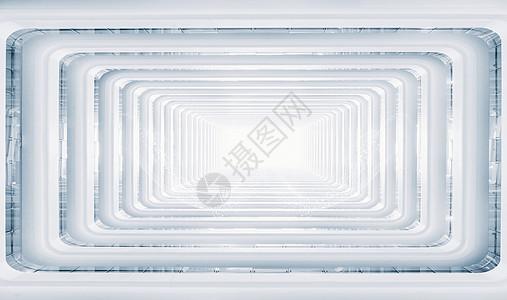 立体空间通道背景图片