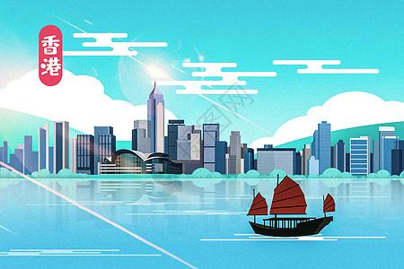 香港地标图片
