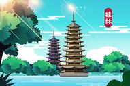 桂林地标图片