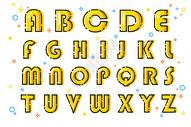 26个字母MBE图标图片