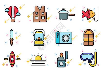 野营旅游图标icon图片