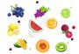 水果手绘素材图片