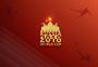 2018俄罗斯世界杯红色背景图片