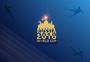 蓝色背景世界杯图案图片