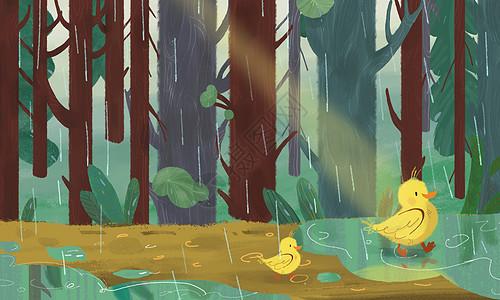森林漫步图片