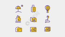 旅行休闲图标icon图片