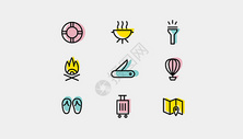 旅行露营图标icon图片