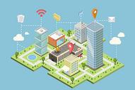 现代智慧城市图片