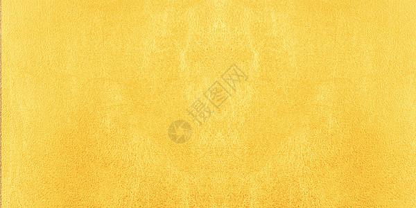 金黄色磨砂墙壁质感背景图片
