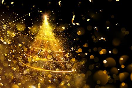 金色光芒背景图片