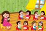 幼儿园玩游戏图片