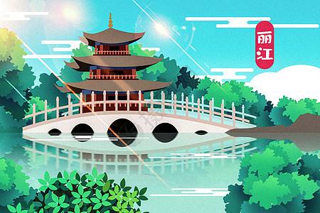 丽江地标图片