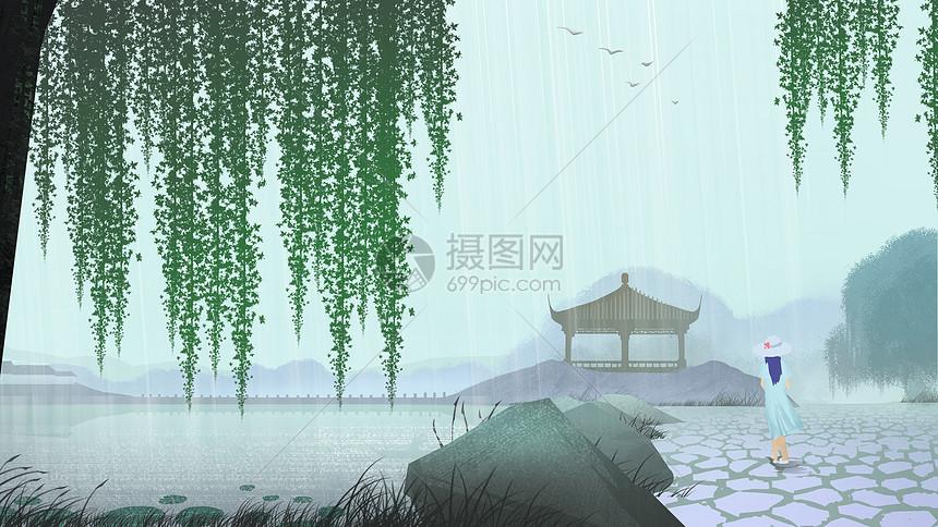 谷雨季节图片