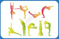 瑜伽图标图片