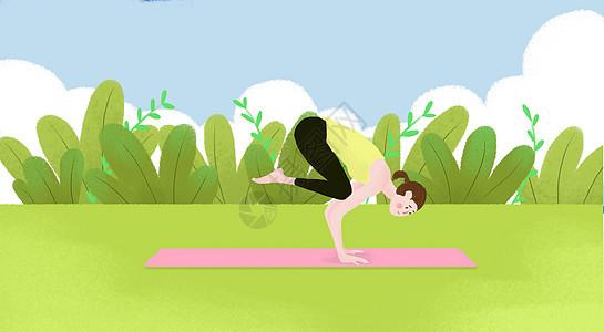 瑜伽健身�D片